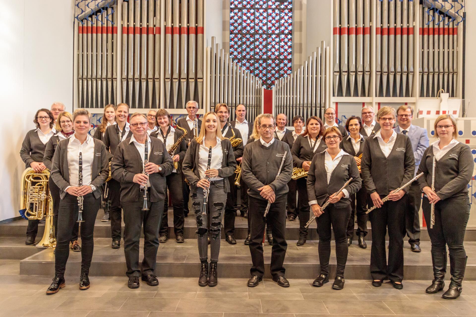 Weihnachtsfeier Nordhorn.Unser Orchester